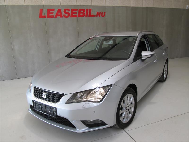 audi-privatleasing-Seat-Leon-1.6-TDI-ST-Style-DSG-105-Sølvmetal
