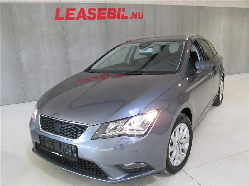 privat leasing af bil -Seat-Leon-1.6-TDI-ST-Style-DSG-105-Koks