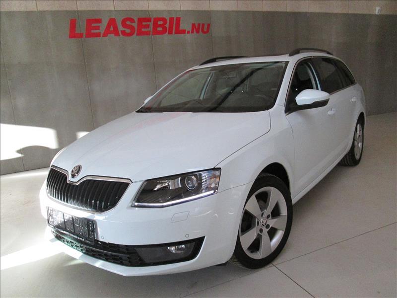 leasebil.nu privatleasing - Skoda-Octavia-1.6-hvid-km-86500
