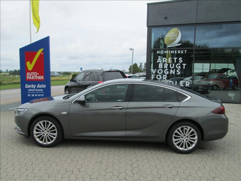 leasebil.nu erhvervsleasing - Opel-Insignia-1,5-grå-metal-km-18000