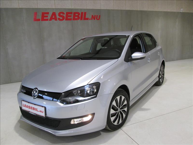 privat leasing af bil -VW-Polo-1.4-TDI-BMT-5d-75-Sølvmetal