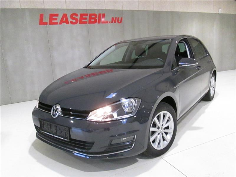 privat leasing af bil -VW-Golf-VII-1.4-TSI-Lounge-5d-125-Grå