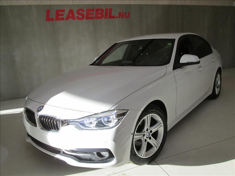 privat leasing af bil -BMW-318d-F30-Sportline-aut.-Hvid