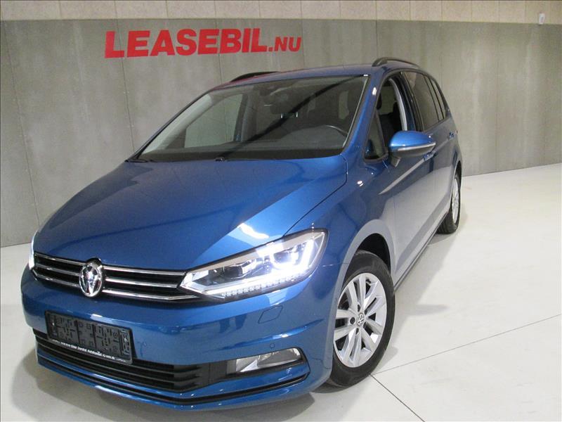 VW-Touran-1.6-TDI-BMT-Comfortline-DSG-7P-115-Blå
