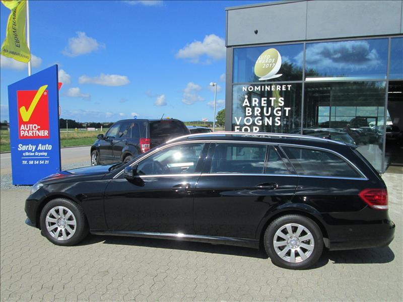 privat leasing af bil -Mercedes-Benz-E220-CDi-stc.-BE-Elegance-Sort