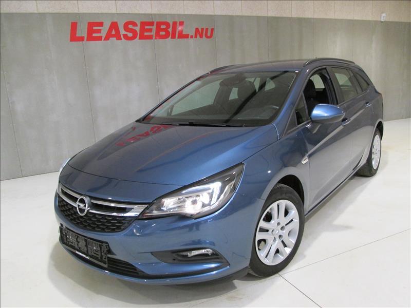 privat leasing af bil -Opel-Astra-1.6-CDTI-Sports-Tourer-ST-110hk-Blå