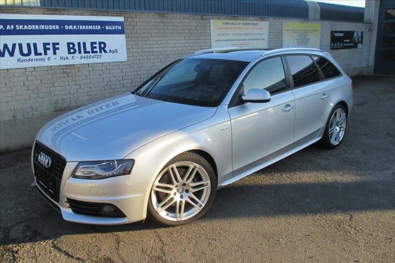 Audi-S4-3.0-Quattro-Avant-333hk-Sølvmetal