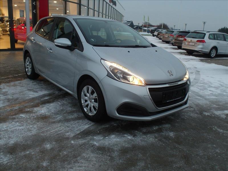 Peugeot-208-Active-5d-Sølvmetal