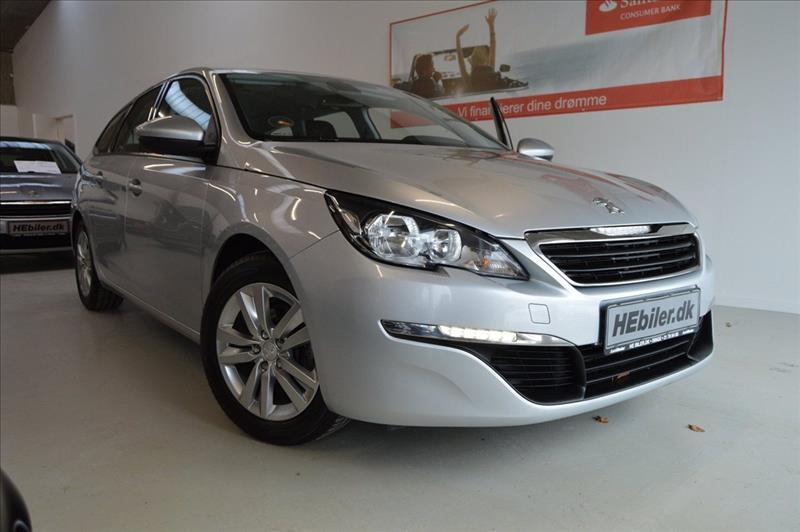 privat leasing af bil -Peugeot-308-1,6-BlueHdi-120-Actice-SW-5d-Sølvmetal