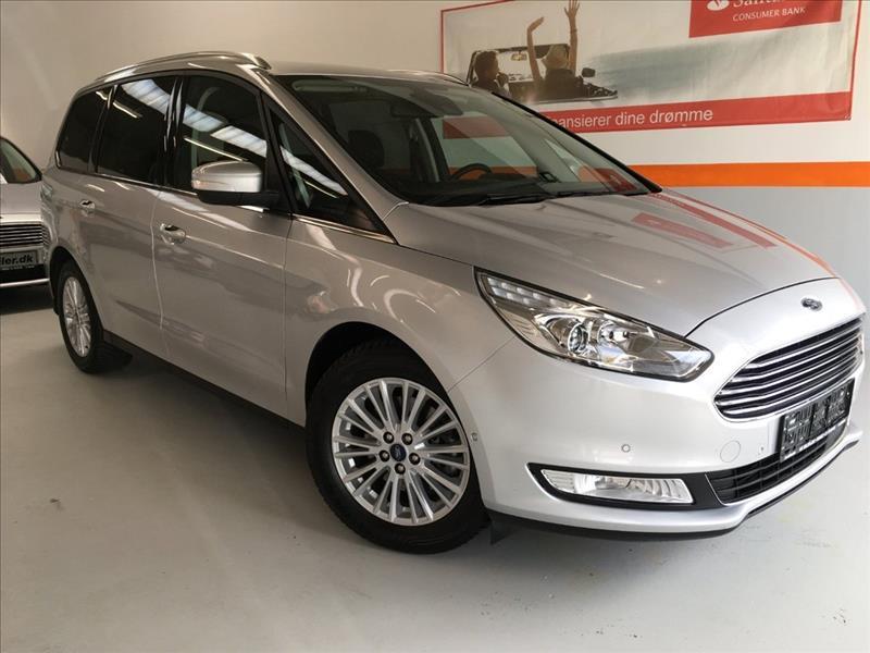 Ford-Galaxy-2,0-TDCI-150-Titanium-aut.-5d-Sølvmetal