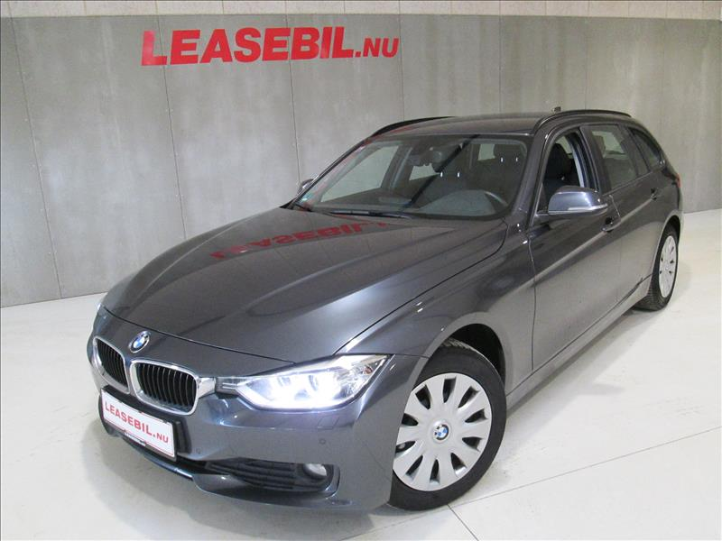privat leasing af bil -BMW-318d-Touring-Aut-Grå