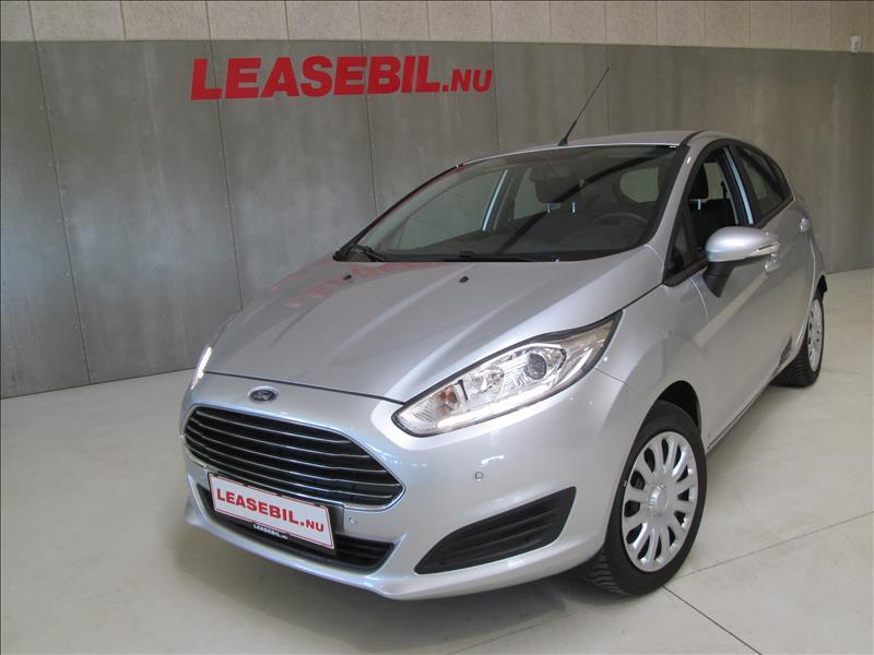 privat leasing af bil -Ford-Fiesta-1.0-Trend-5dørs-80-Sølvmetal