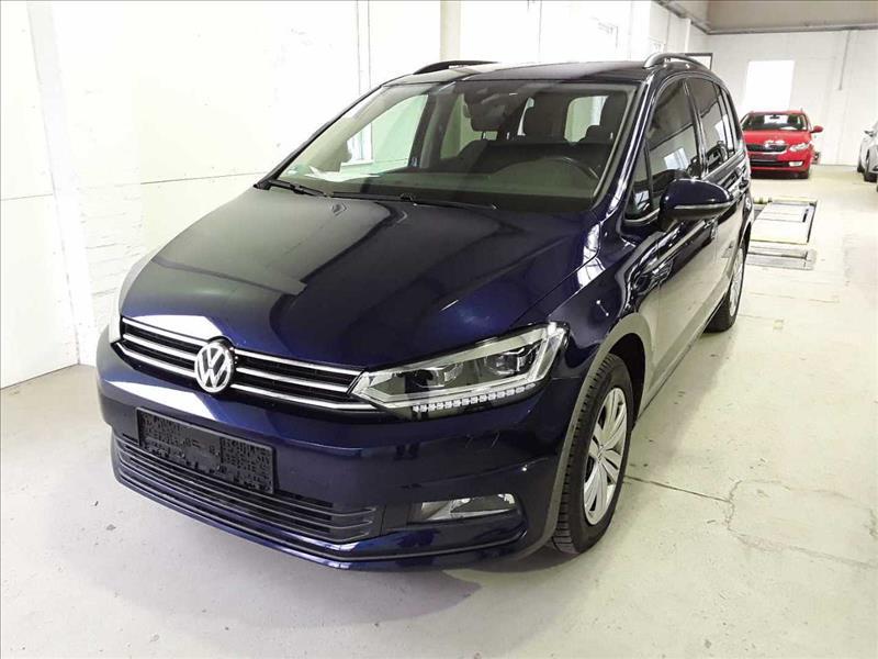 privat leasing af bil -VW-Touran-1.6-TDI-BMT-Comfortline-DSG-110-7P-Blå