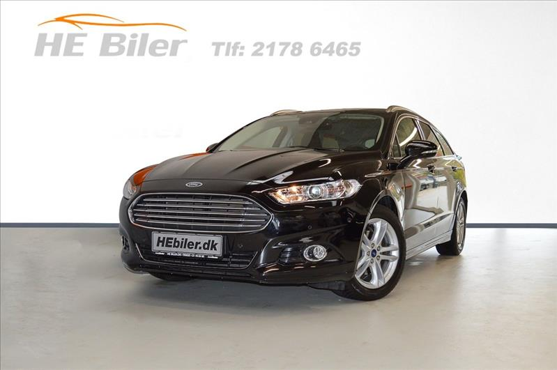 privat leasing af bil -Ford-Mondeo-1,5-SCTI-160HK-Titanium-ST:CAR-Sort
