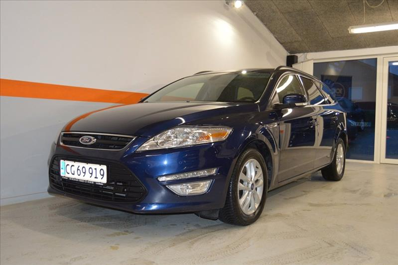 leasebil.nu privatleasing - Ford-Mondeo-2,0-T-blå-metal-km-135000