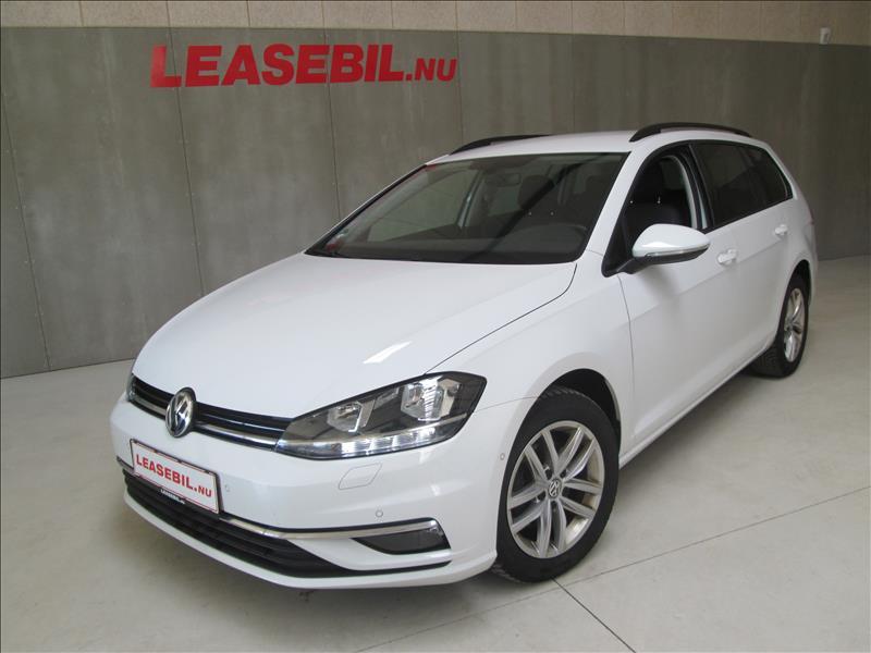privat leasing af bil -VW-Golf-VII-1.6-TDI-Variant-Comfortline-BMT-DSG-115-Hvid