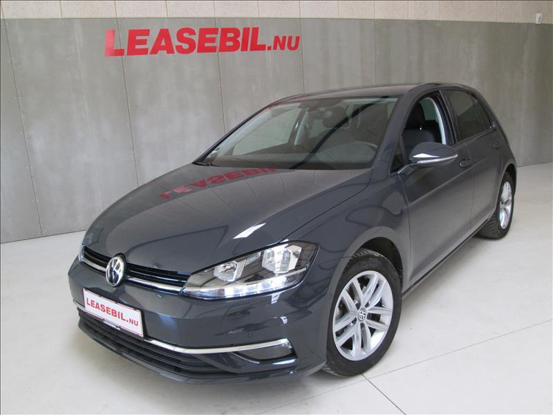 privat leasing af bil -VW-Golf-VII-1.6-TDI-Comfortline-BMT-5d-DSG-115-Grå