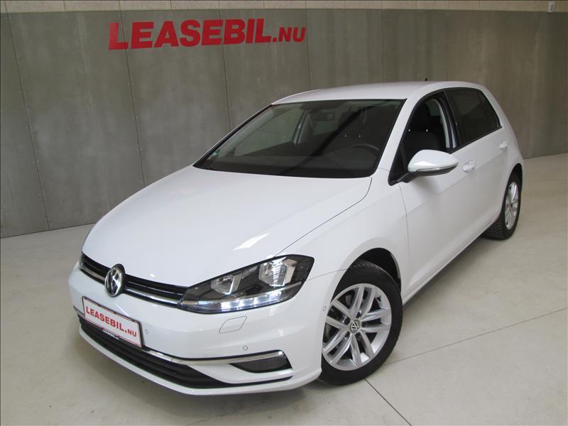 privat leasing af bil -VW-Golf-VII-1.6-TDI-BMT-Comfortline-5d-DSG-115-Hvid