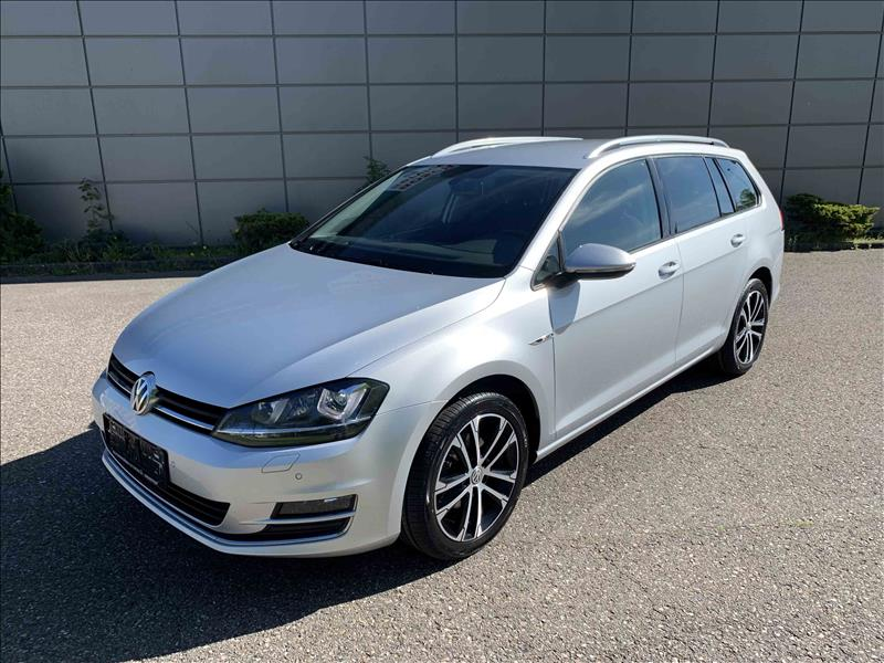 VW--Golf-VII-1,6-TDi-110-Lounge-Variant-DSG-5d-Sølvmetal