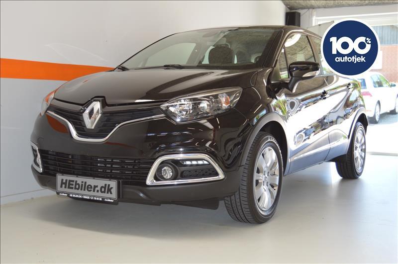 privat leasing af bil -Renault-Captur-0,9-Sort