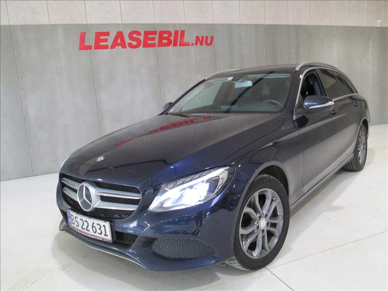 leasebil.nu privatleasing - Mercedes-Benz-C22-blå-metal-km-137000
