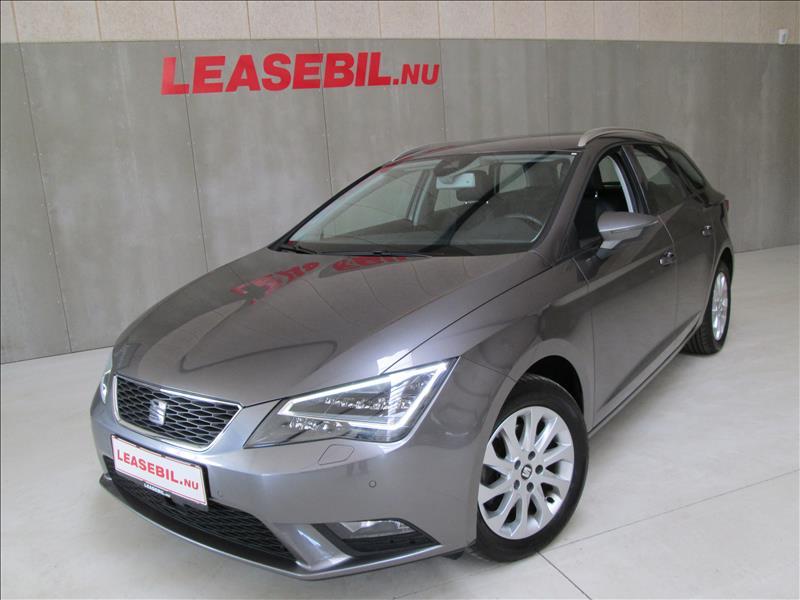 privat leasing af bil -Seat-Leon-1.6-TDI-Style-ST-DSG-110-Koks