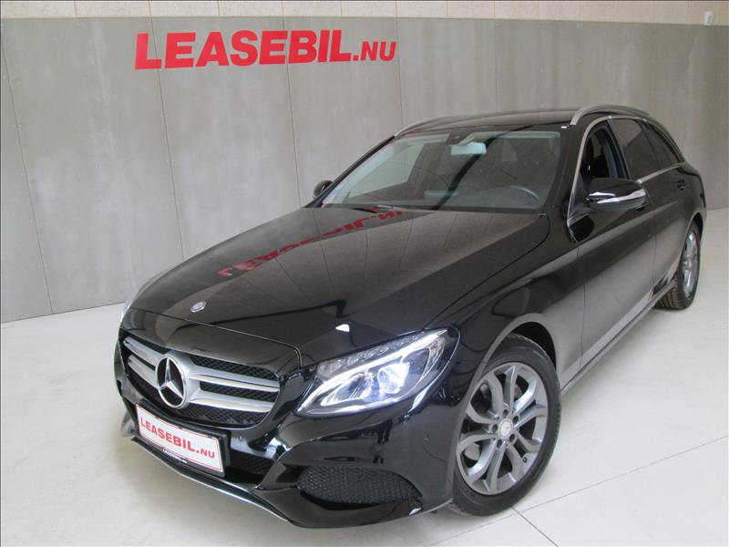 leasebil.nu privatleasing - Mercedes-Benz-C20-sort-km-127574