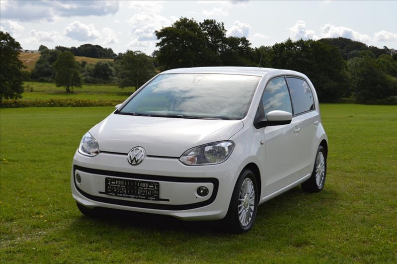 privat leasing af bil - VW-Up!-1,0-60-High-Up!-BMT-5d-Hvid
