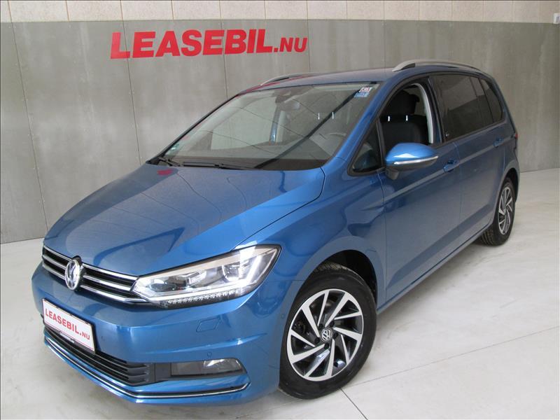 leasebil.nu privatleasing - VW-Touran-1.6-TDI-blå-metal-km-87153