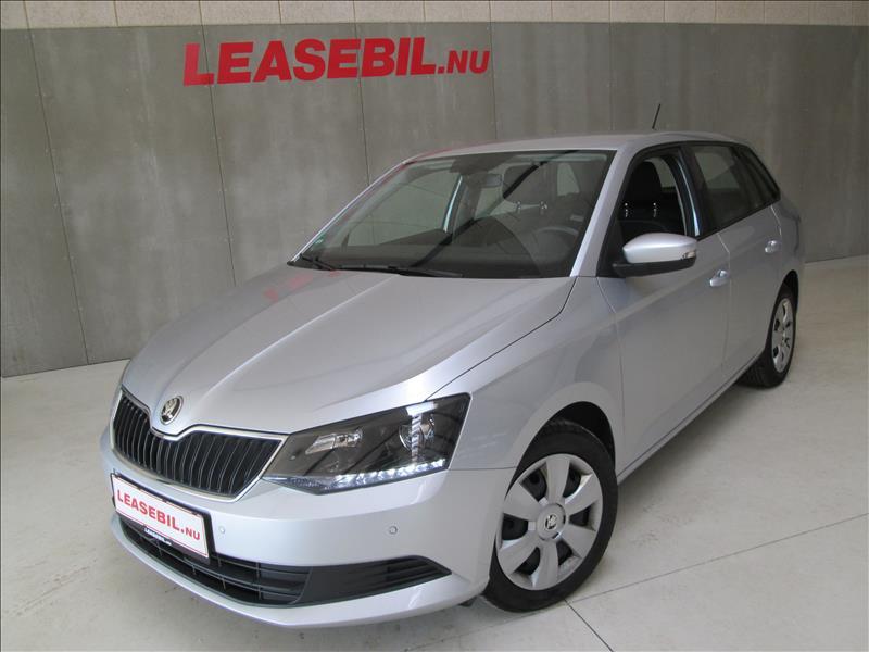 leasebil.nu privatleasing - Skoda-Fabia-1.4-T-sølvmetal-km-98878