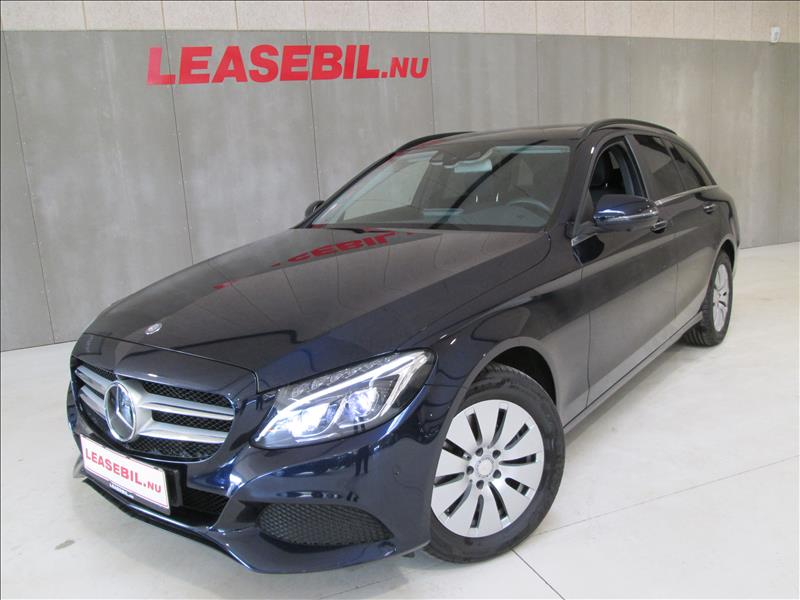 leasebil.nu privatleasing - Mercedes-Benz-C22-blå-metal-km-105149