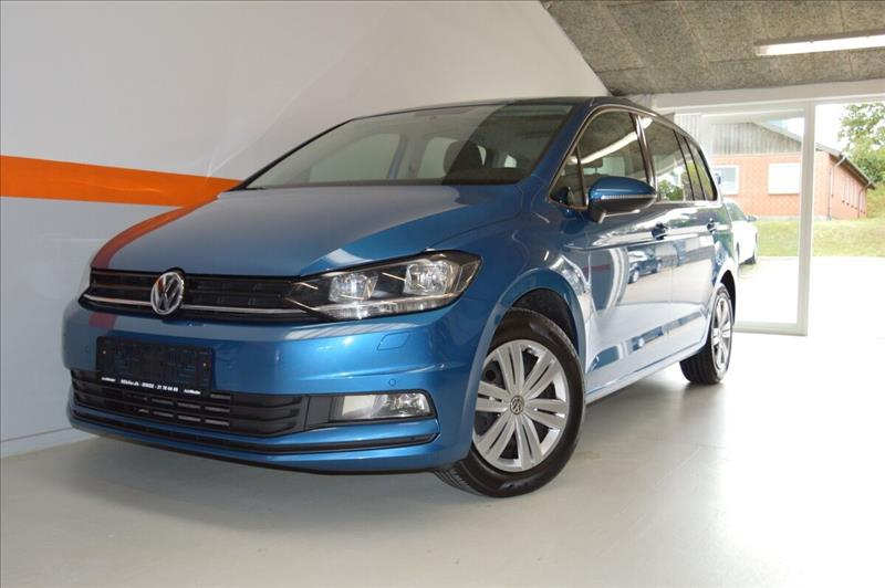 leasebil.nu privatleasing - VW-Touran-1,2-TSi-blå-metal-km-83000