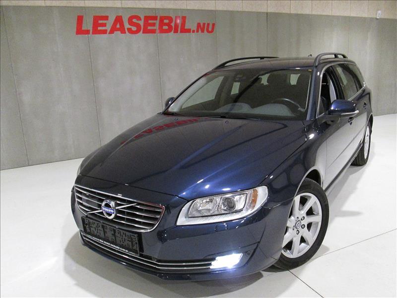 privat leasing af bil -Volvo-V70-D4-Momentum-Aut-181-Blå