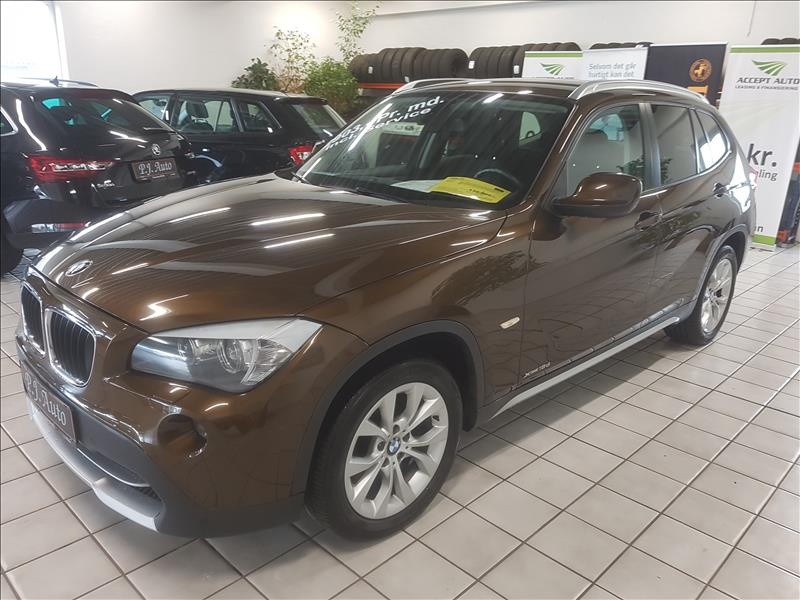 leasebil.nu firmabilen-BMW-X1-2.0-X-driv-brun-meta-km-106000