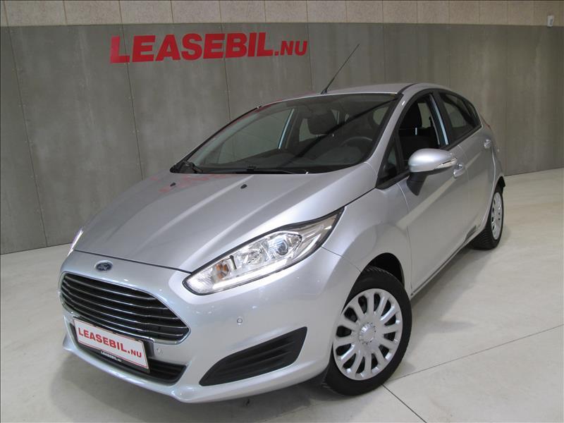 leasebil.nu firmabilen-Ford-Fiesta-1.0-T-sølvmetal-km-11367