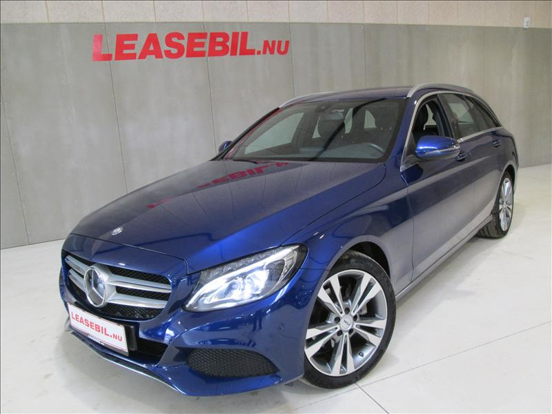 leasebil.nu privatleasing - Mercedes-Benz-C22-blå-metal-km-113744