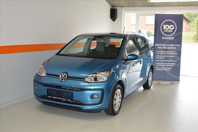 leasebil.nu erhvervsleasing - VW-Up!-1,0-MPi-60-blå-metal-km-5000