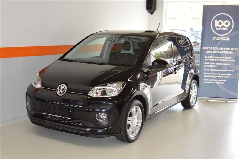 leasebil.nu erhvervsleasing - VW-Up!-1,0-TSi-90-sort-km-39000
