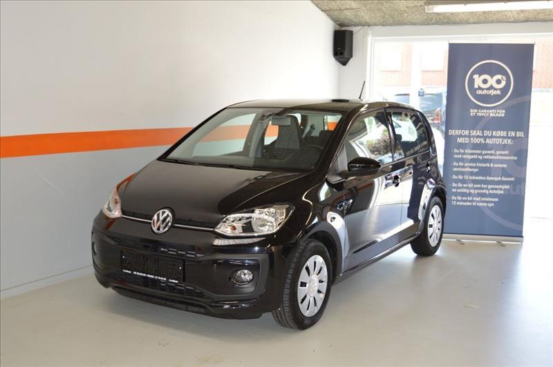 leasebil.nu erhvervsleasing - VW-Up!-1,0-MPi-60-sort-km-36000
