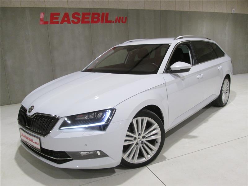 leasebil.nu firmabilen-Skoda-Superb-2.0--hvid-meta-km-124046