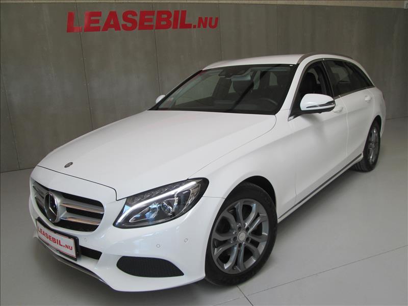 leasebil.nu privatleasing - Mercedes-Benz-C20-hvid-km-85223