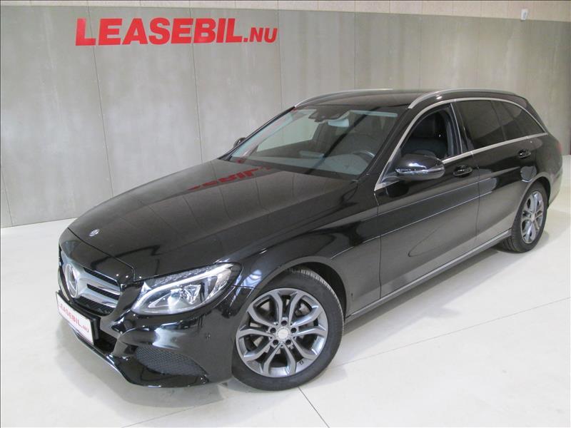 leasebil.nu firmabilen-Mercedes-Benz-C22-sort-meta-km-146300