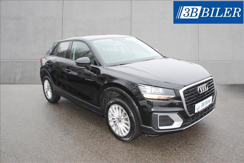 leasebil.nu privatleasing - Audi-Q2-1.6-TDI-D-sort-meta-km-45112