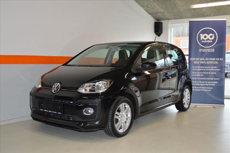leasebil.nu privatleasing - VW-Up!-1,0-TSi-90-sort-km-56000