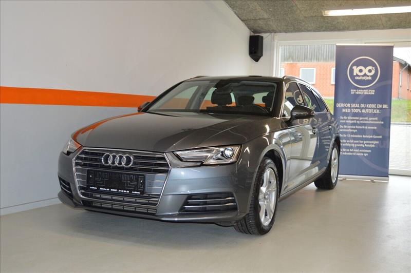 leasebil.nu privatleasing - Audi-A4-2,0-TFSi--grå-metal-km-49000