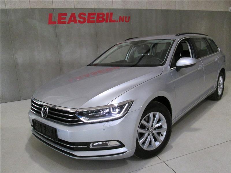 leasebil.nu privatleasing - VW-Passat-2.0-TDI-sølvmetal-km-90000