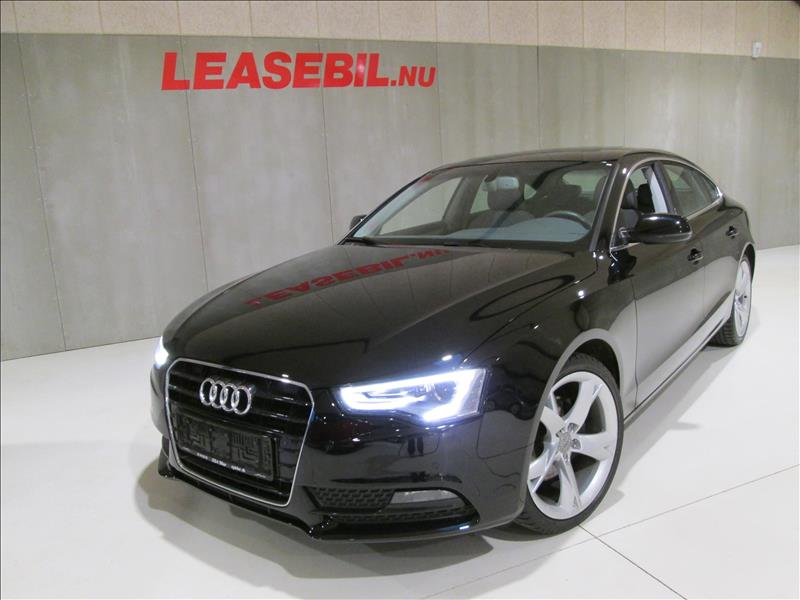 leasebil.nu privatleasing - Audi-A5-2.0-TDI-S-sort-km-185000