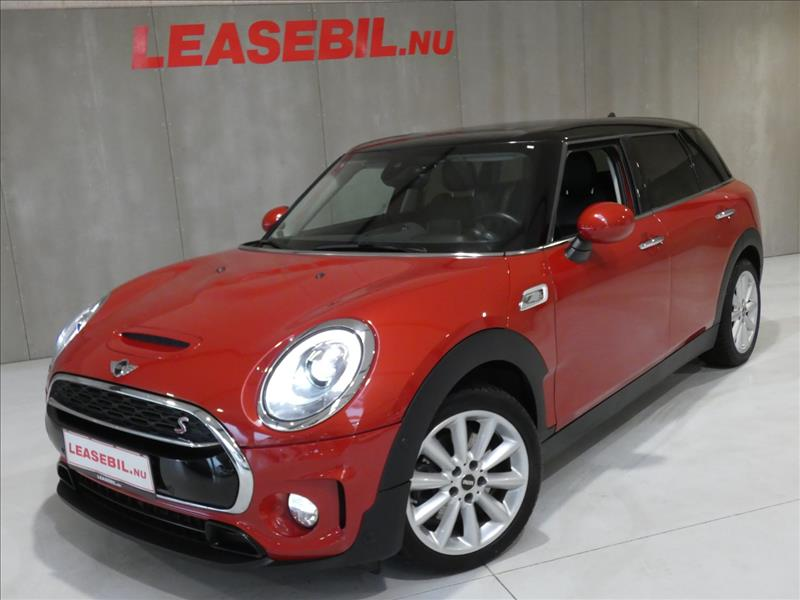 leasebil.nu privatleasing - Mini-Clubman-Coop-rød-metal-km-55000