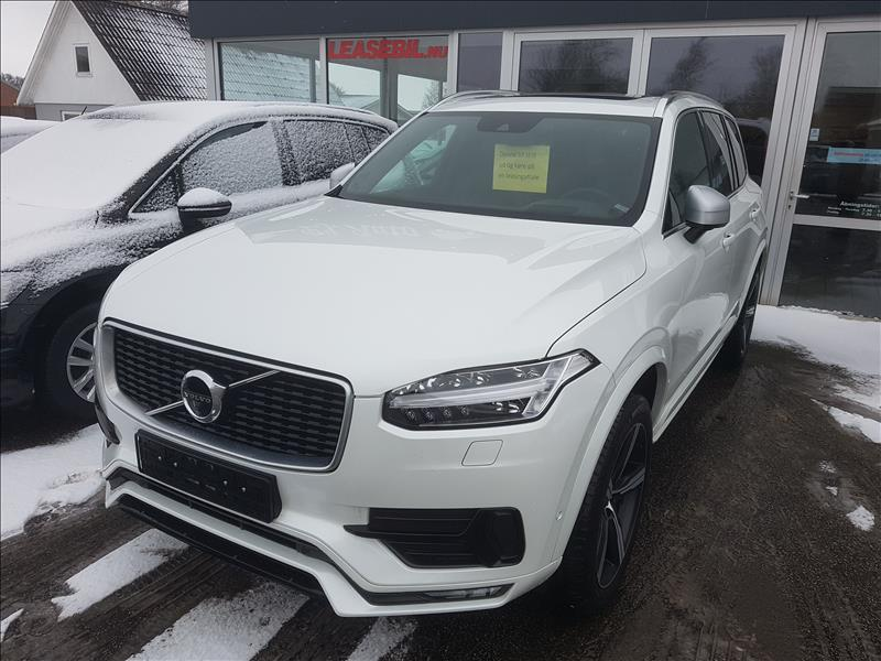 leasebil.nu firmabilen-Volvo-XC90-D5-235-hvid-meta-km-42000