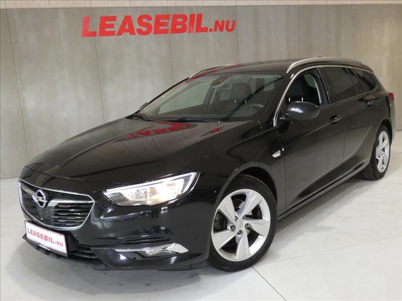 leasebil.nu firmabilen-Opel-Insiginia-1.-sort-meta-km-120000